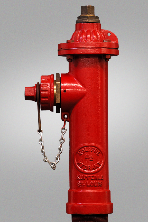 KUPFERLE #2 4' BURY POST HYDRANT ECLIPSE - 2in FPT INLET 2-1/2 NST NOZZLE